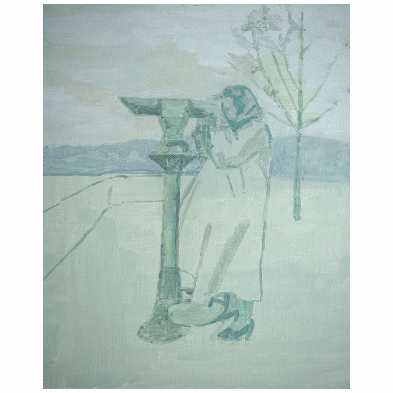 Woman with a Telescope