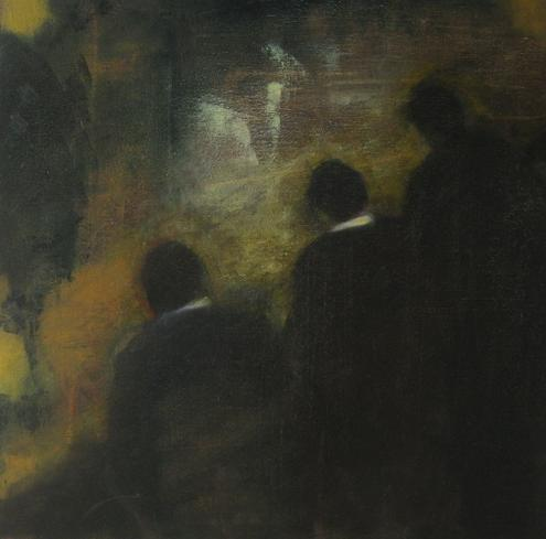 Three in dark