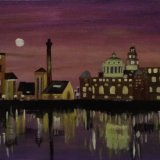 Liverpool Docks Reflection (sold)