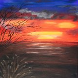Sunset (sold)