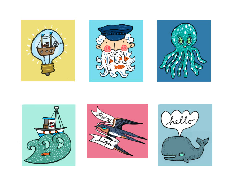 Kid's Sticker Designs