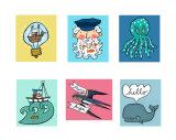 Kid's Sticker Designs