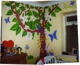 Child's Jungle Mural
