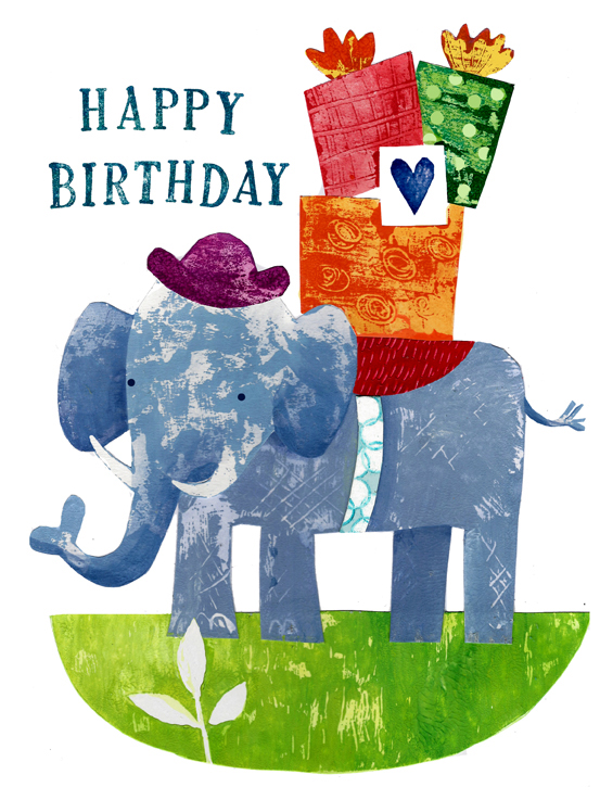 Ellie Birthday card