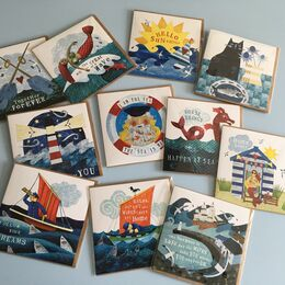Sea Wisdom Cards -the printed versions.