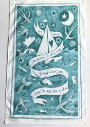 Dream of Fishes Tea Towel