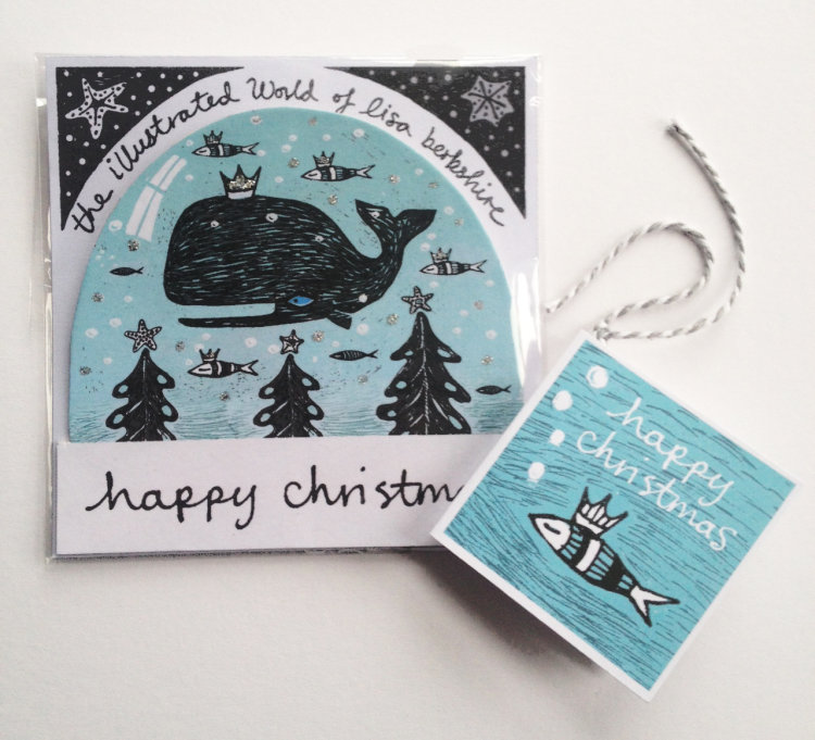 Whale Snow Globe - Illustrated and Proud!