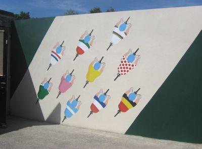 Prendas Ciclismo Race Mural