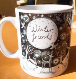 Winter Friends Mug.