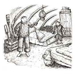 From my own story 'The Land of Soil and Sea'. Children's Adventure Novel.