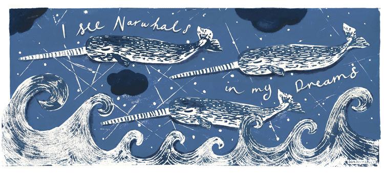 I see Narwhals...