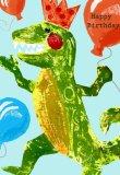 Tyrannosaurus Rex Birthday Dinosaur Card