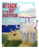 Attack of the 50ft Jellyfish! For SWArtwork's 'Open House'
