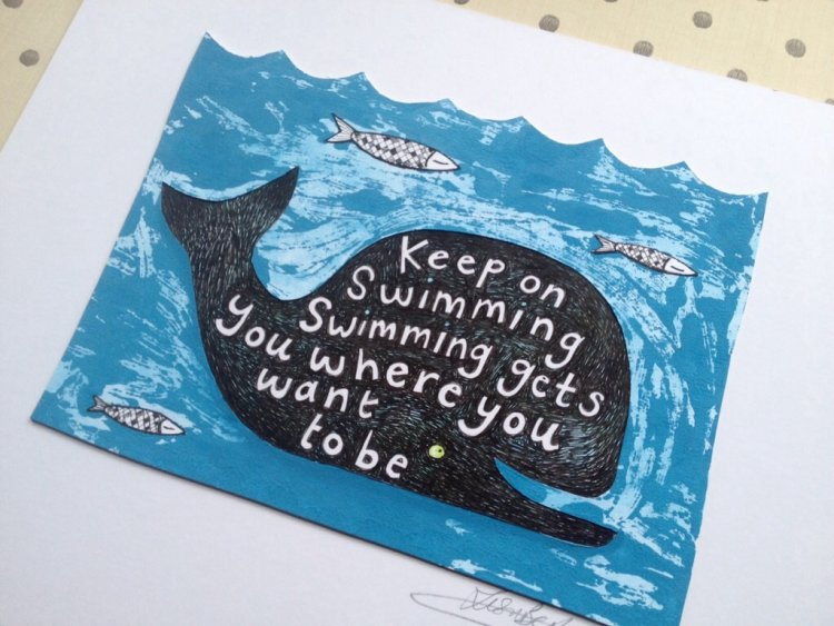 Keep on Swimming