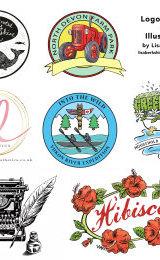 A selection of logos.