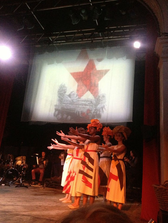 Freedom Bread and Peace - Multimedia Performance on 20th Century Russian History.