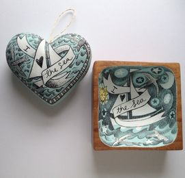 I Love the Sea - Illustrated Objects