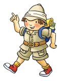 George the Explorer for Staunton Farm Park Hampshire