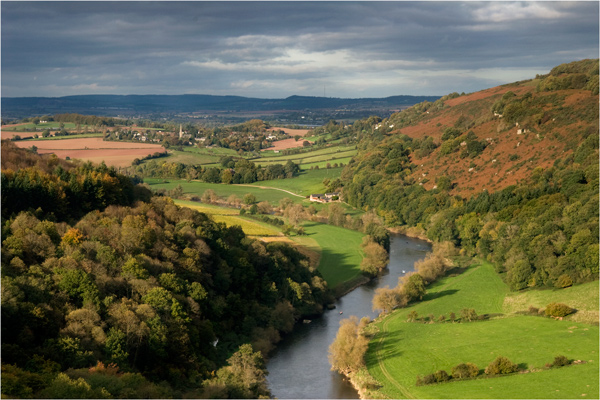 View of River Wye from Symonds Yat Rock