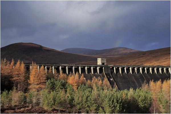 Glascarnoch Dam (see video)