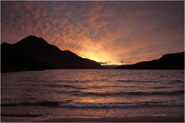 Dawn at Loch Lurgainn