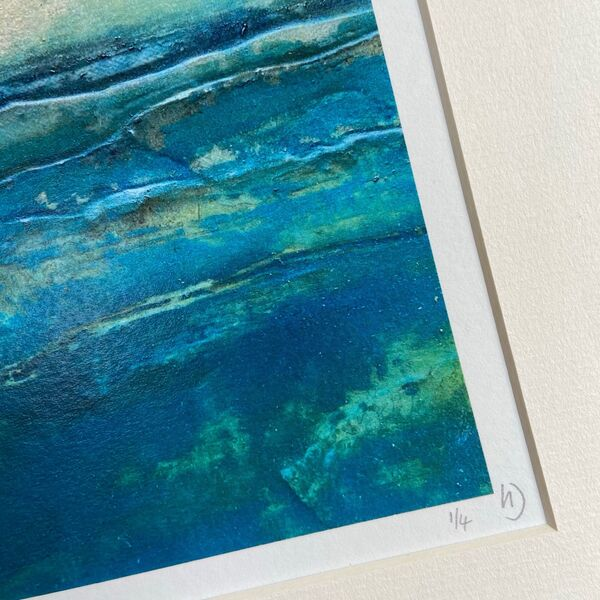 Blue Tides Limited Edition Print