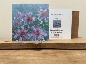 Cosmos Greetings Card