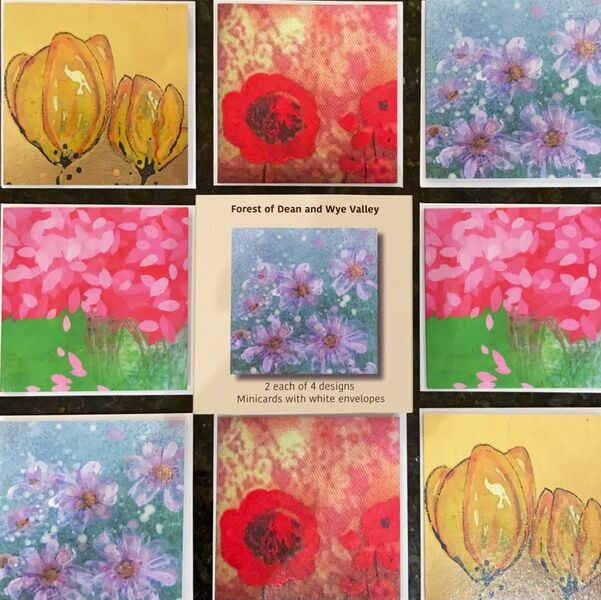 Flowers - Mini Card Sets