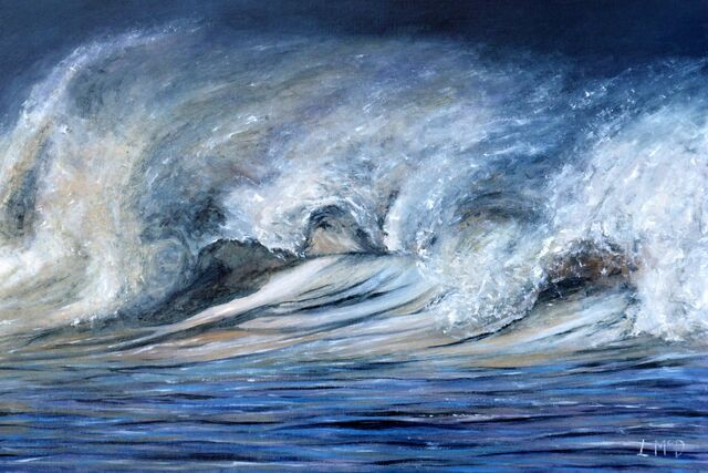 Breaking Wave Painting