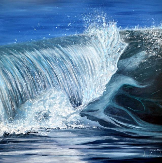 Every Single Drop Seascape Painting