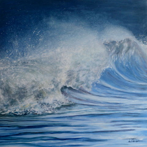 Freedom Seascape Painting