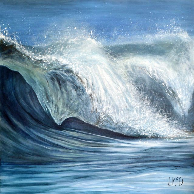 The Song of the Ocean Seascape Painting