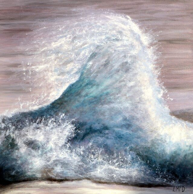 Breaking Wave Painting