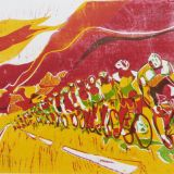 Tour de Force (Yellow and Red)