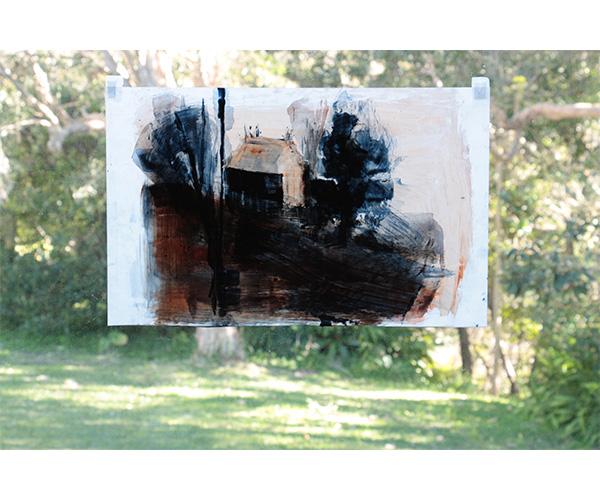 [Light box studies] Late Afternoon Light (Haefliger's View)