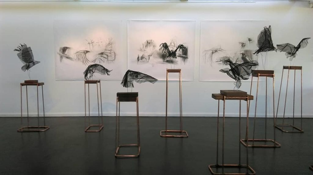 In Flight (installation view)