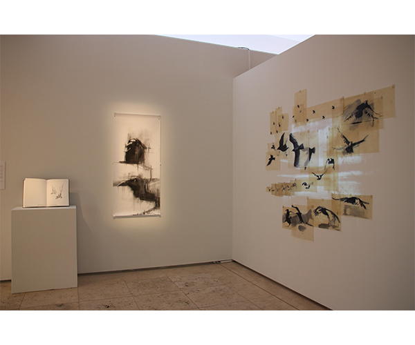 Becoming Raven - Installation view 1