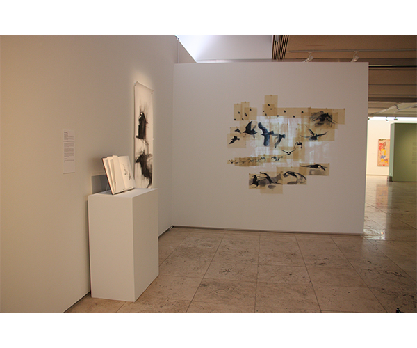 Becoming Raven - Installation view 2
