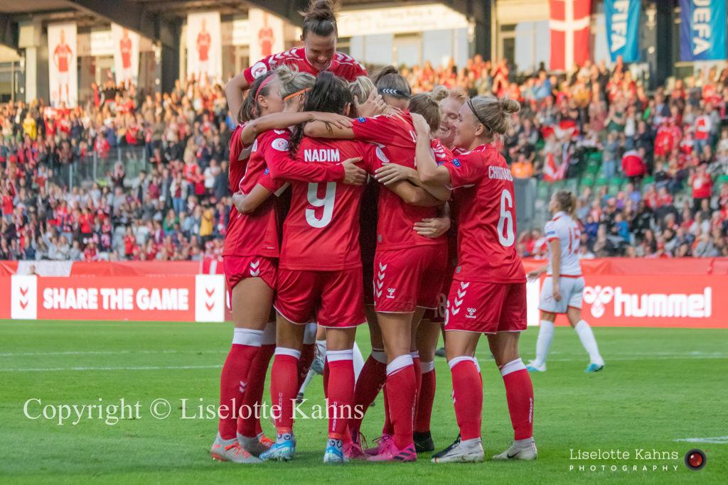 WMS NT, Denmark vs. Malta, Viborg 2019. Happiness, 8-0 victory