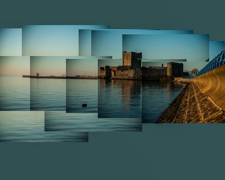 Carrickfergus Castle Montage - 8720