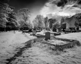 North Road Grave yard, Carrickfergus - 3487