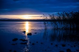Sunset at Lough Neagh - 3857