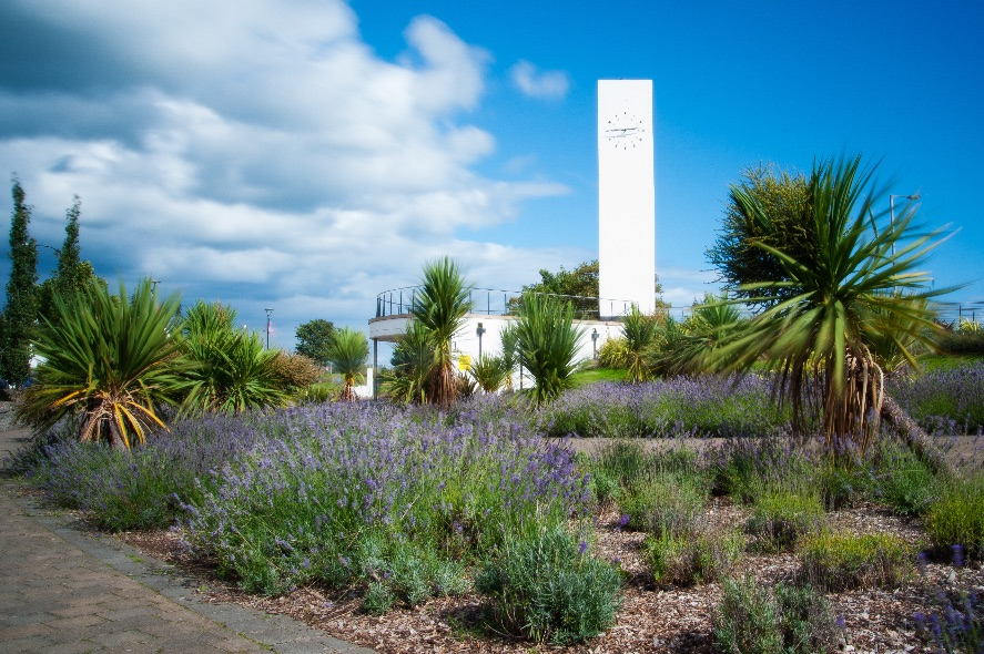 Marine Gardens, Clock Tower - 3458