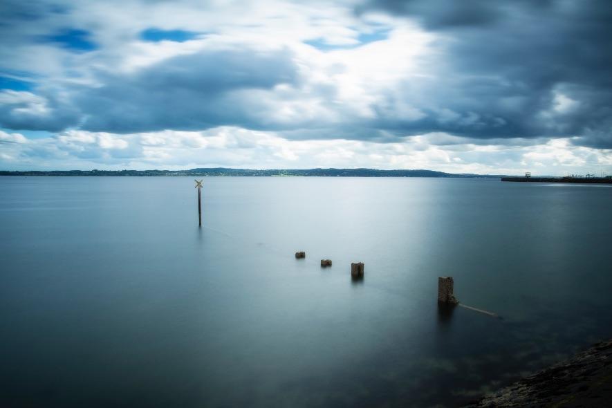 Sea defences, Carrickfergus - 3486