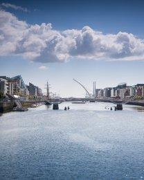 Liffey River, Dublin - 1056