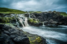 Dunserverick Waterfall - 8454
