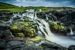 Dunserverick Waterfall - 8475