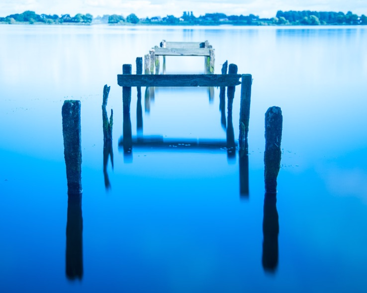 Oxford Island old pier - 9824
