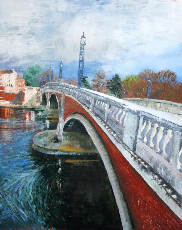 Hampton Court Bridge - SOLD