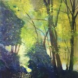 Trees in the mist SOLD